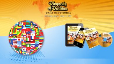 Rhapsody of Realities; a guide to life