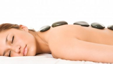 Chill 'Hot Stone Massage' would work for you
