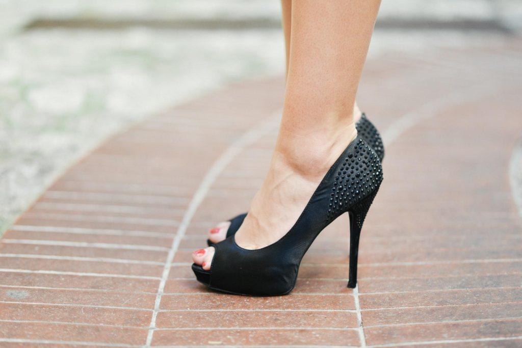 Put on heels