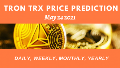 Tron TRX price prediction daily 24 May